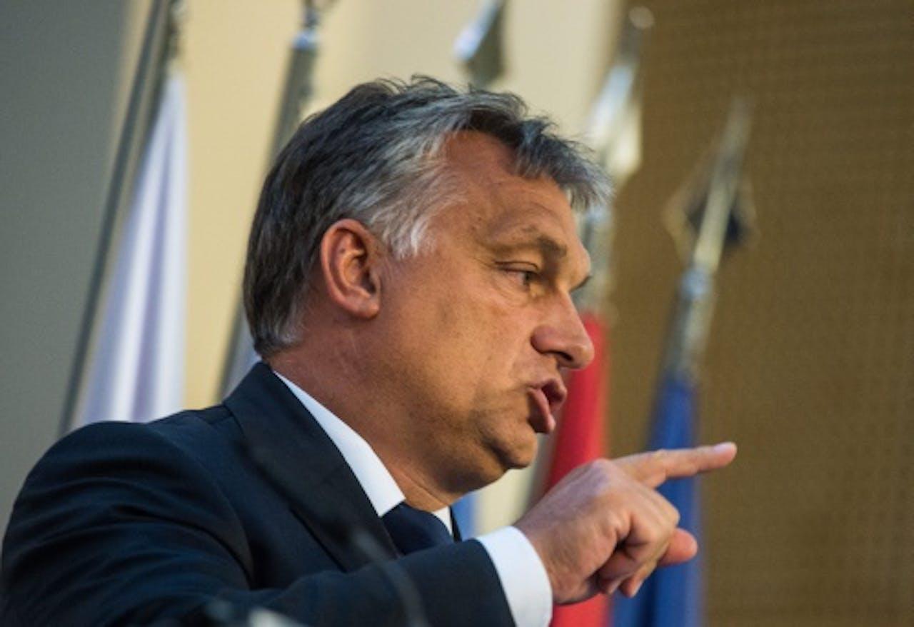 Premier Viktor Orban. EPA