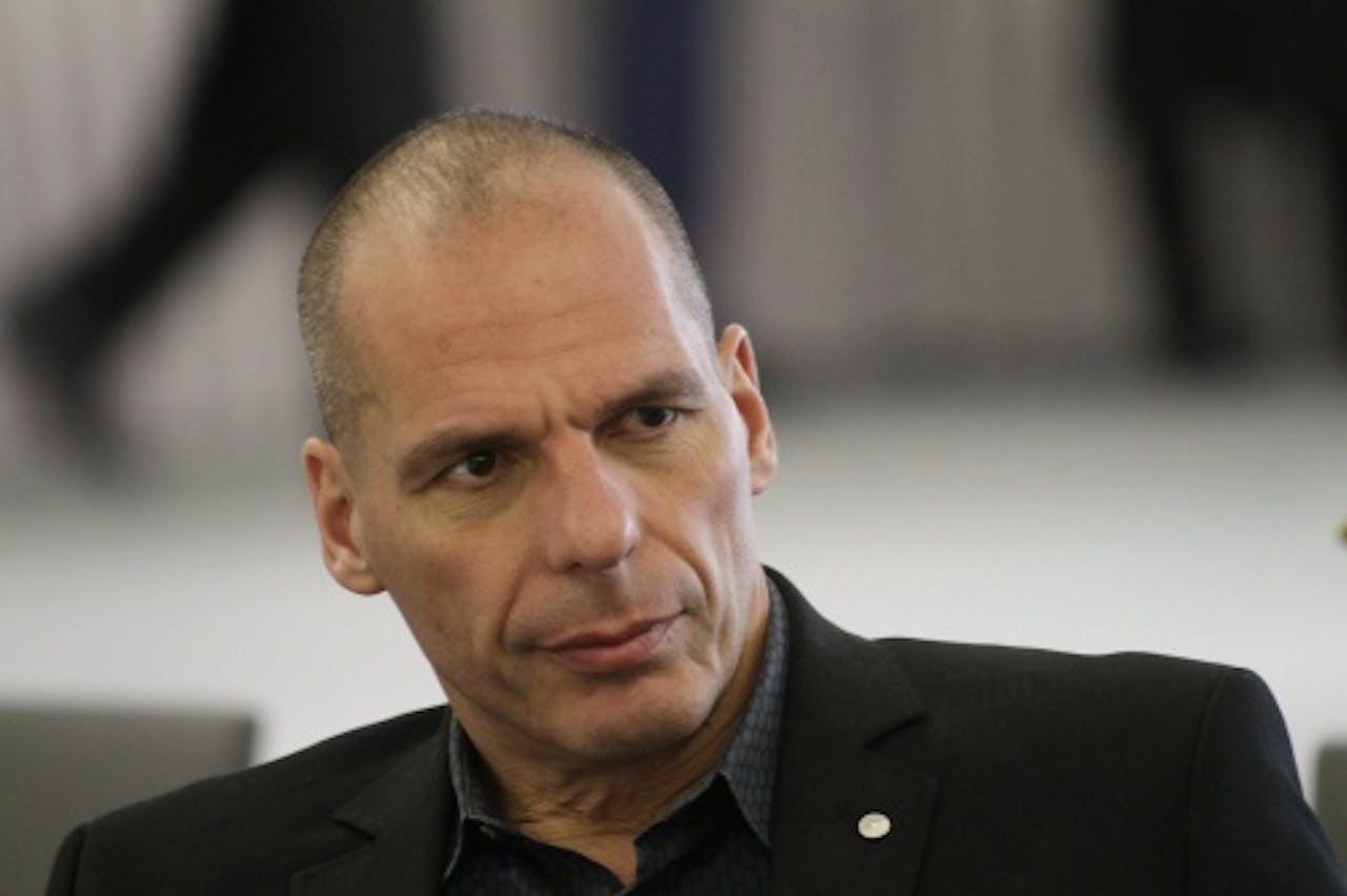 De Griekse minister van Financiën GrYanis Varoufakis. EPA