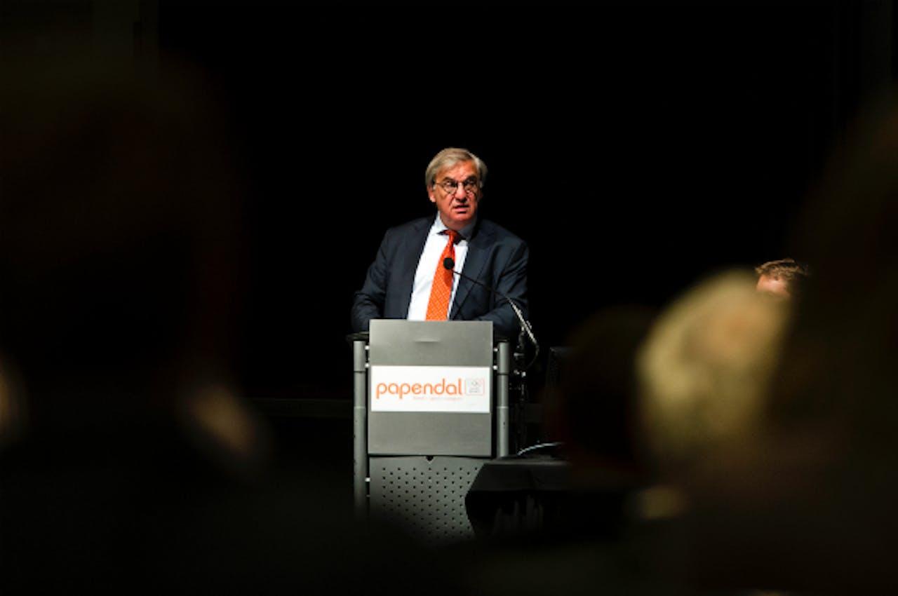Foto: ANP - André Bolhuis, voorzitter NOC*NSF