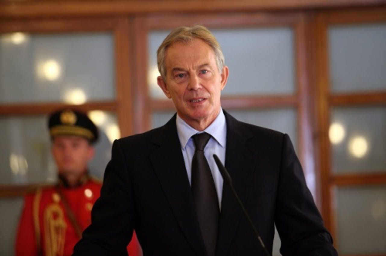 Tony Blair. EPA