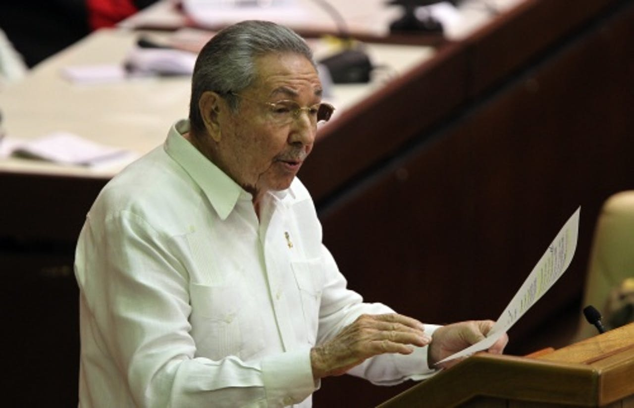 President Raul Castro. EPA