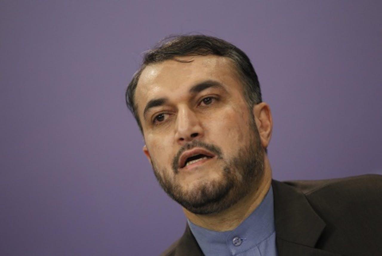 Hossein Amir Abdollahian. EPA