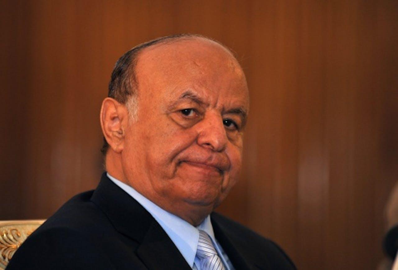 President Abd-Rabbu Mansour Hadi (EPA)