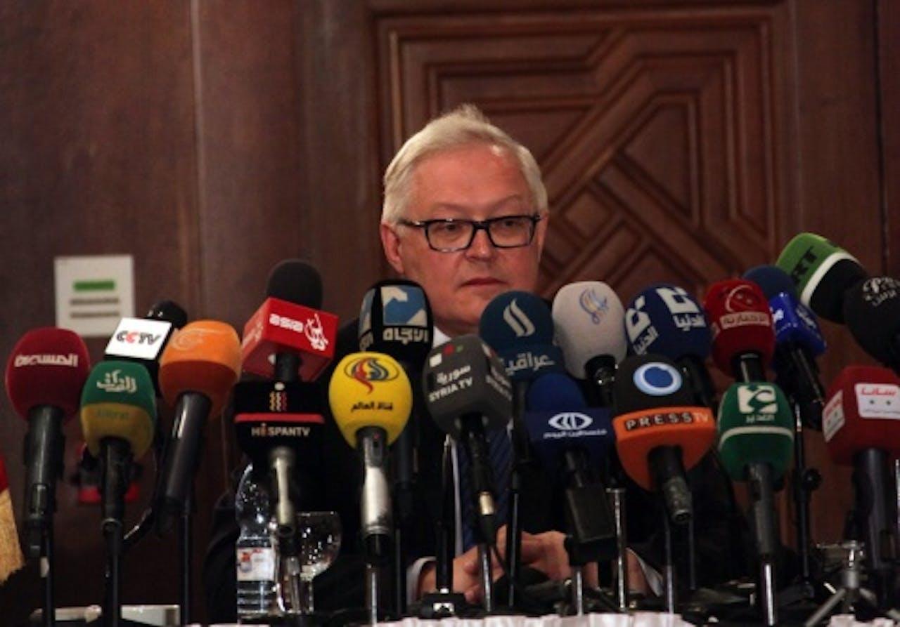 Sergei Ryabkov. EPA