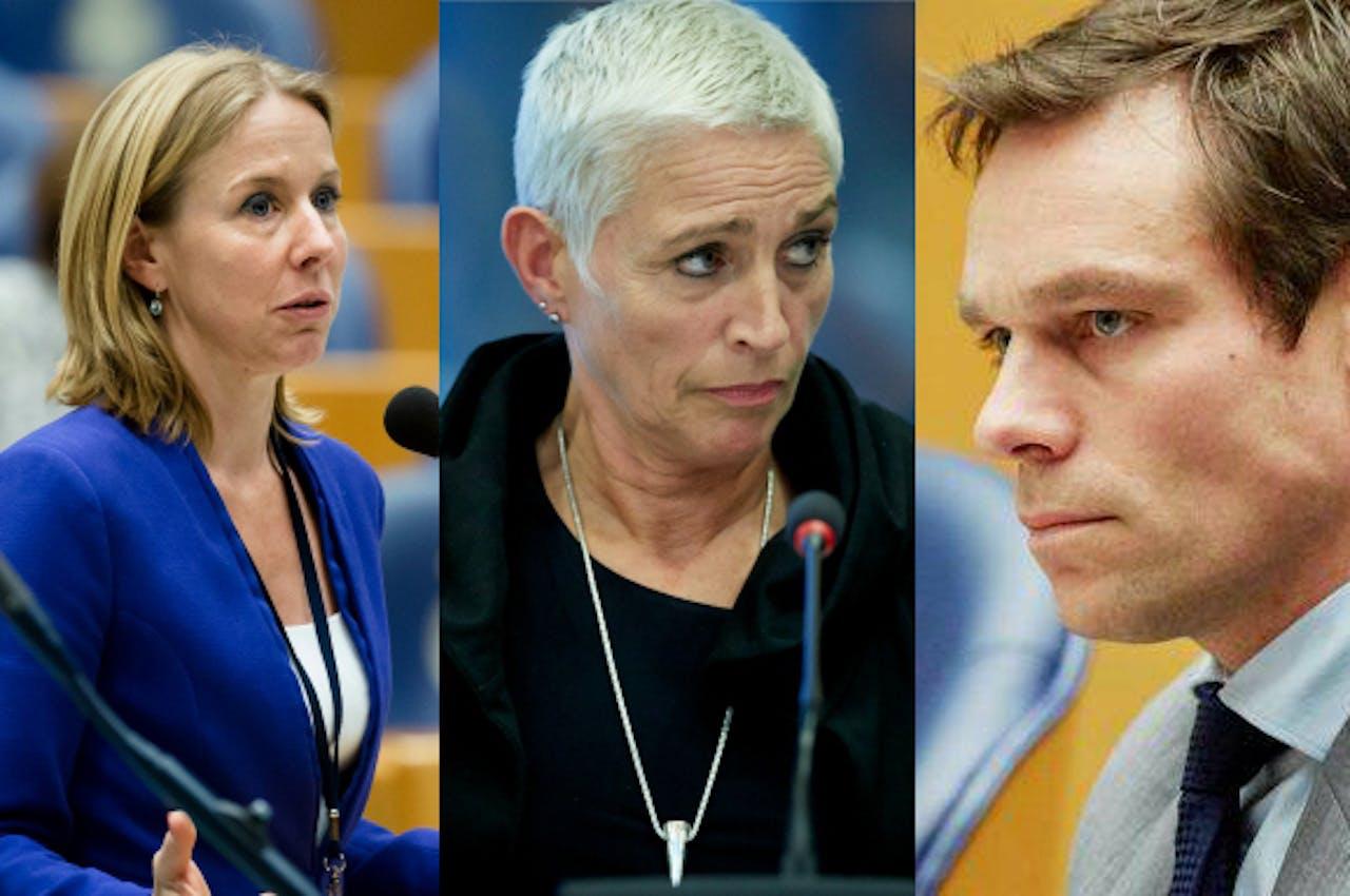 Van Veldhoven, Mansveld & Van Helvert. Foto: ANP