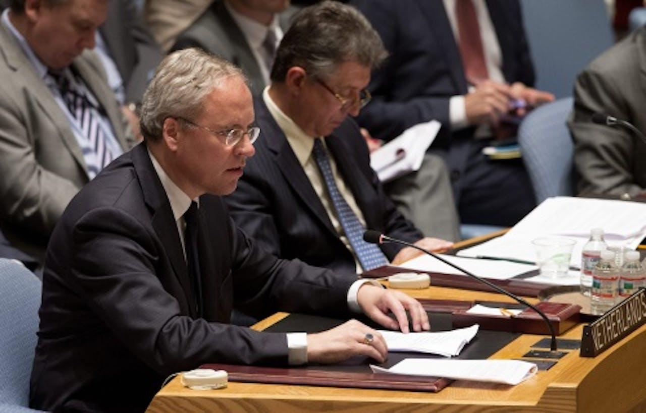VN-vertegenwoordiger Karel van Oosterom. EPA