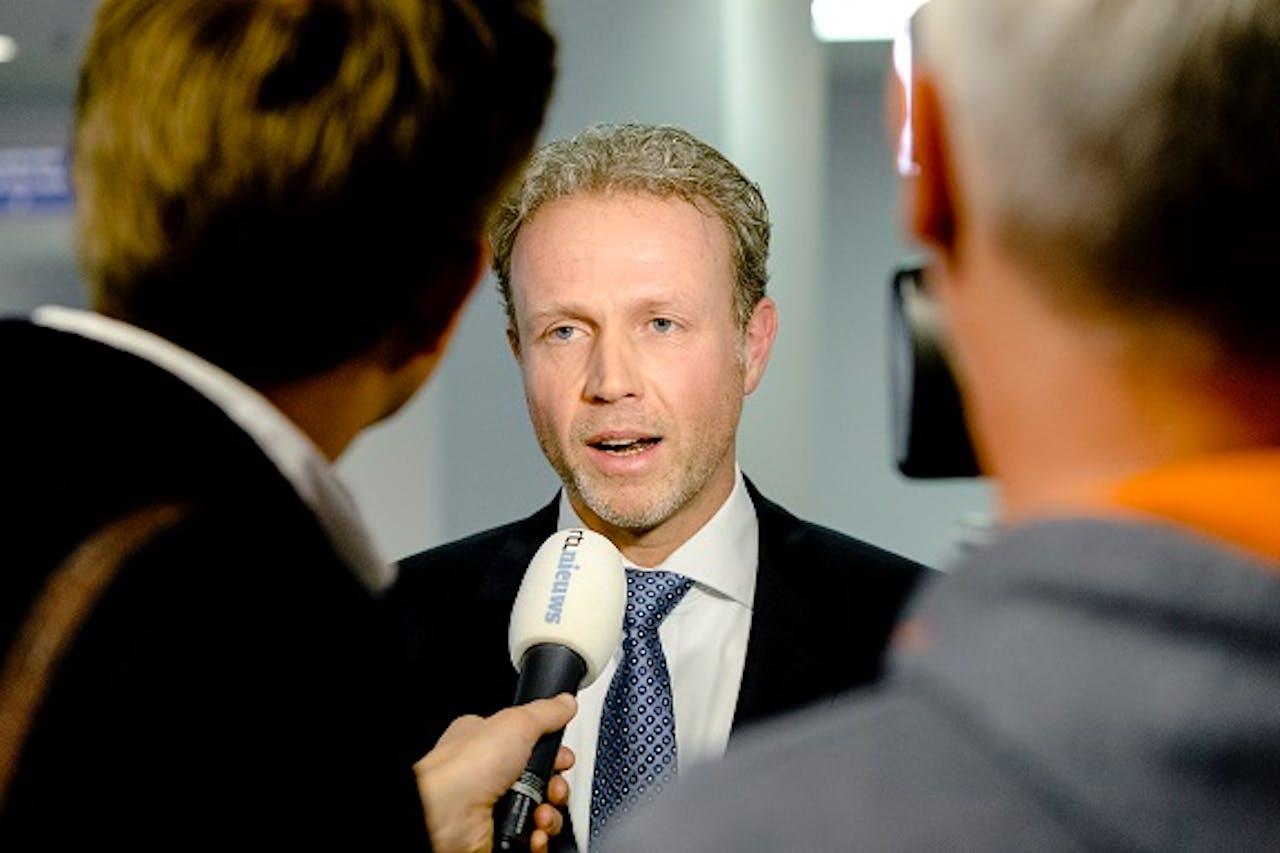 Foto: ANP. Hoofdofficier van Justitie Johan Bac