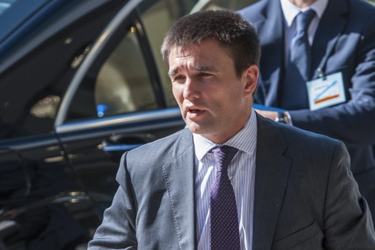 Pavel Klimkin. EPA