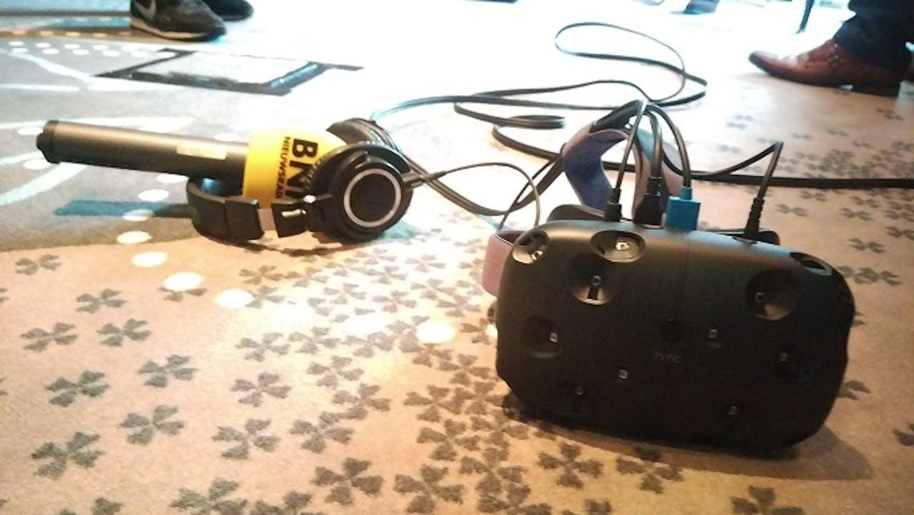 HTC Vive. Foto: BNR