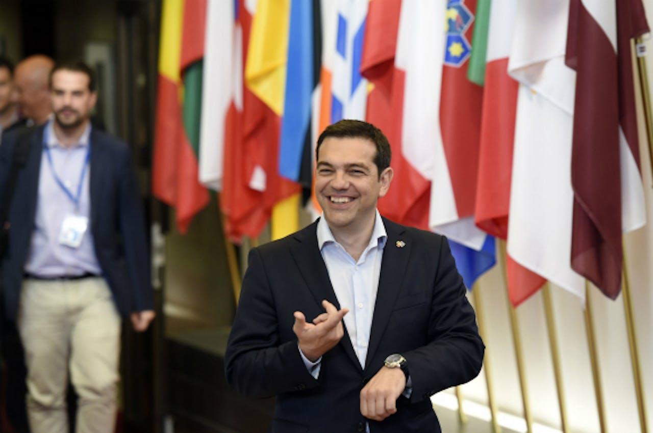 Foto: AFP - Griekse premier Tsipras