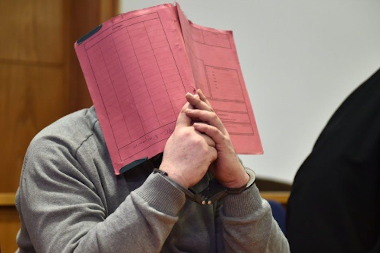 Niels H. in de rechtbank. Archieffoto EPA