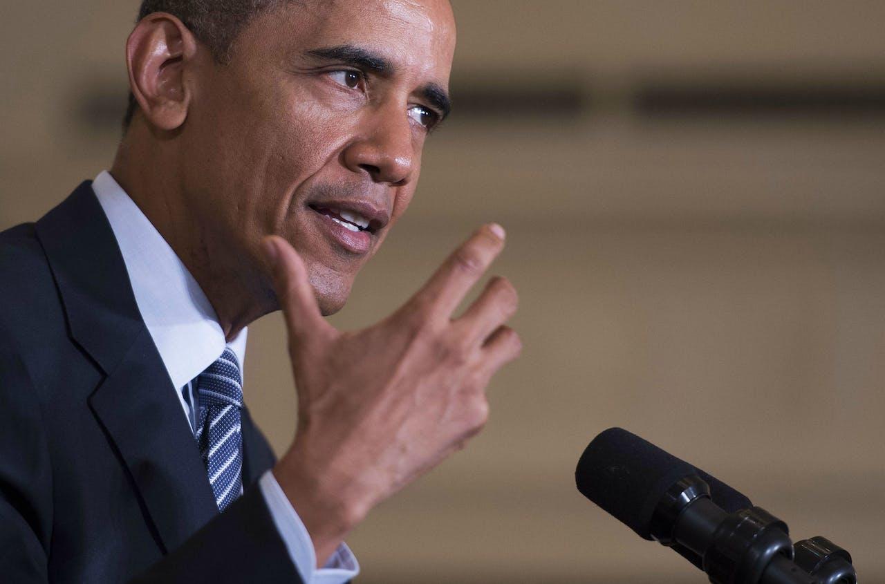 Foto ANP / President Obama
