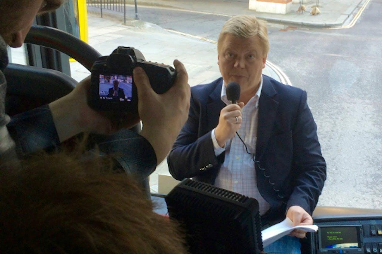 Roman Borisovich, organisator van Kleptocracy Tours. Foto: Lia van Bekhoven