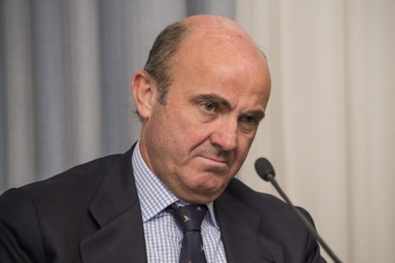 Luis de Guindos. EPA