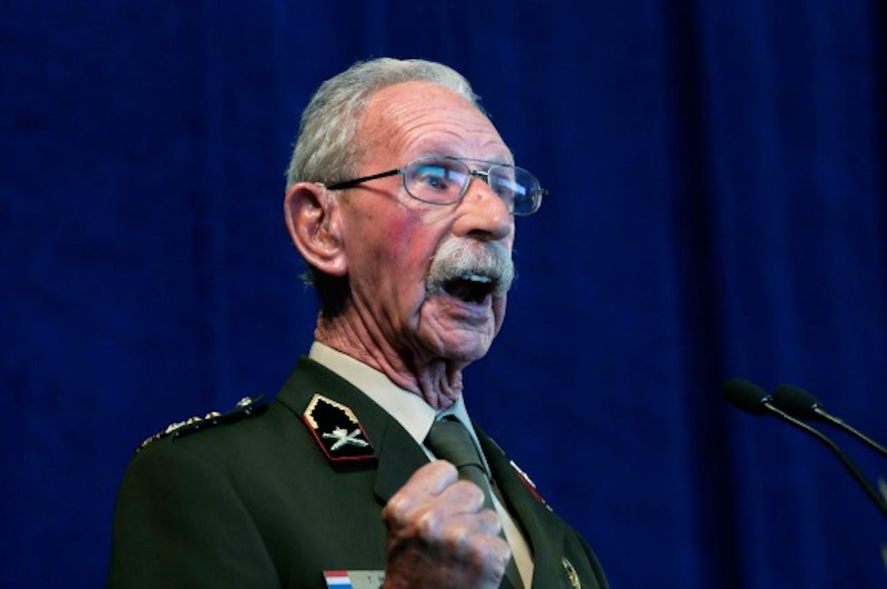 Generaal buiten dienst Ted Meines. Foto ANP