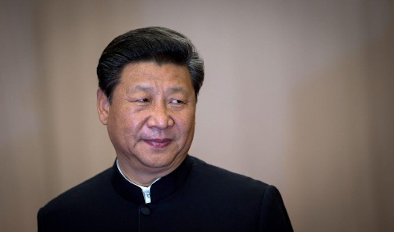 De Chinese president Xi Jinping. EPA