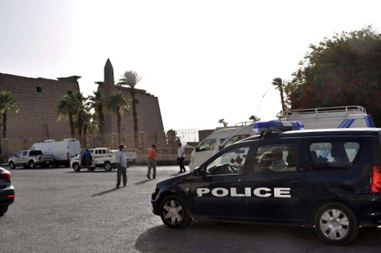 Archieffoto, politie Egypte juni 2015. EPA