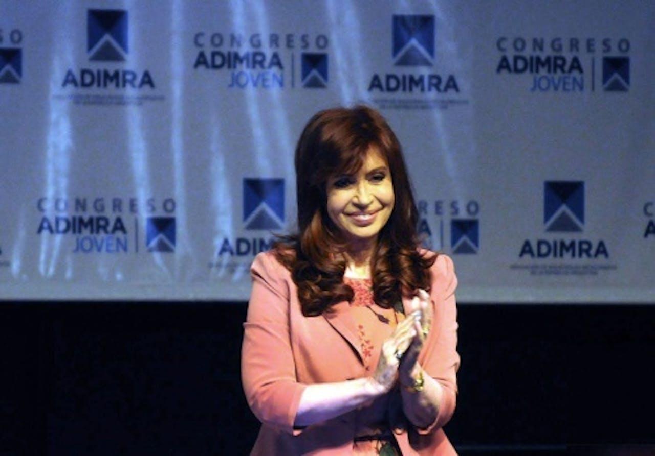 Cristina de Kirchner.EPA