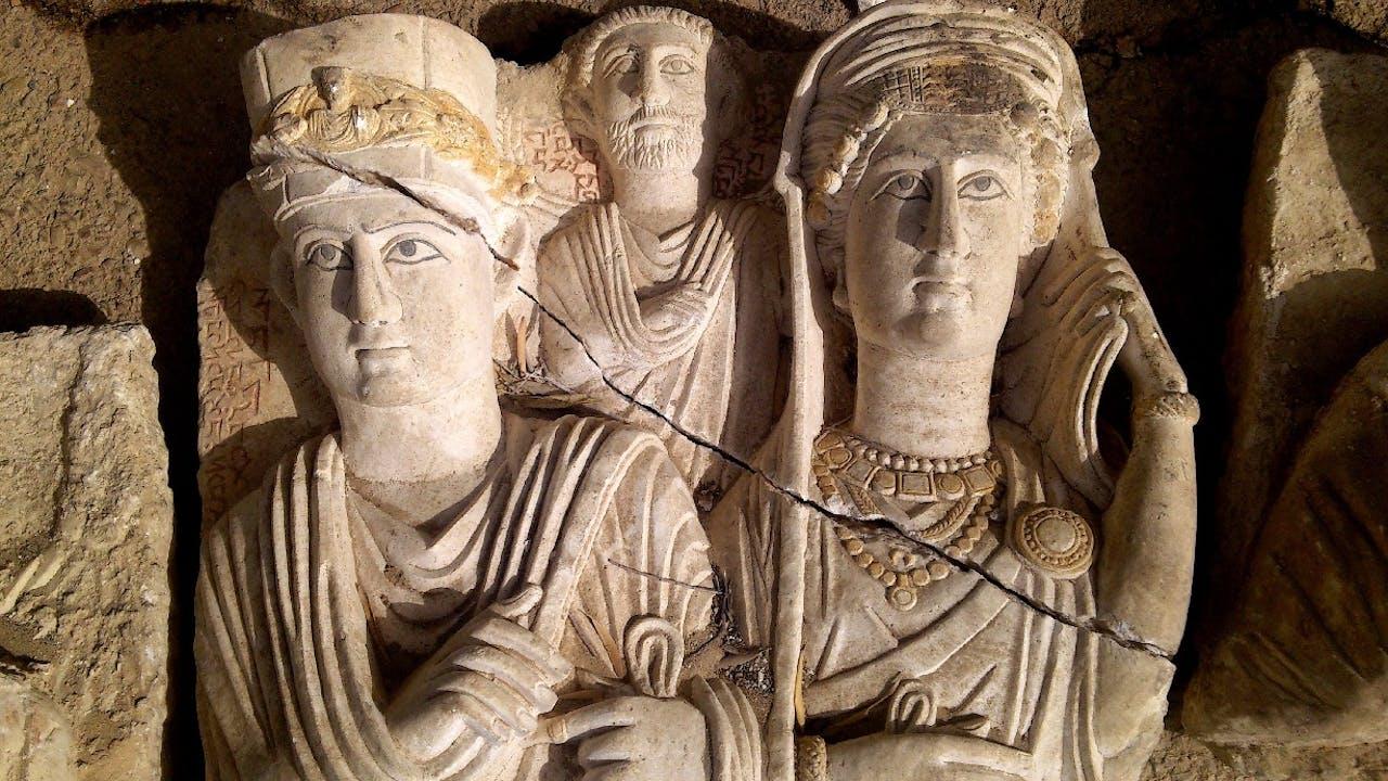 Foto: ANP - Beelden uit Palmyra