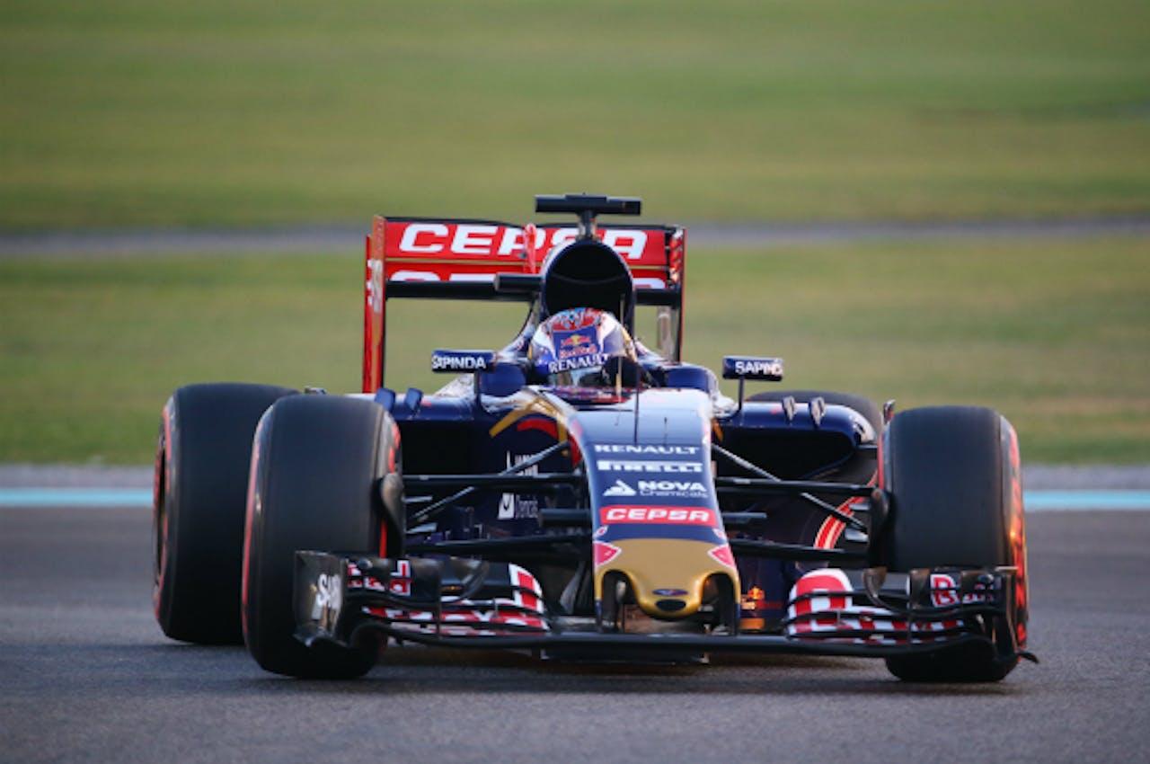 Max Verstappen tijdens de GP van Abu Dhabi