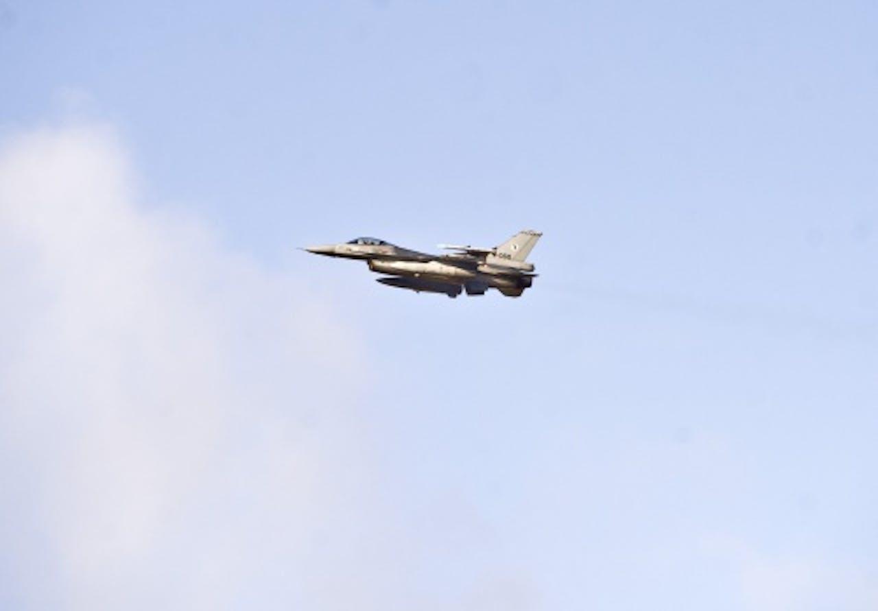 Archiefbeeld van een F-16. ANP