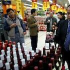 export wijn china