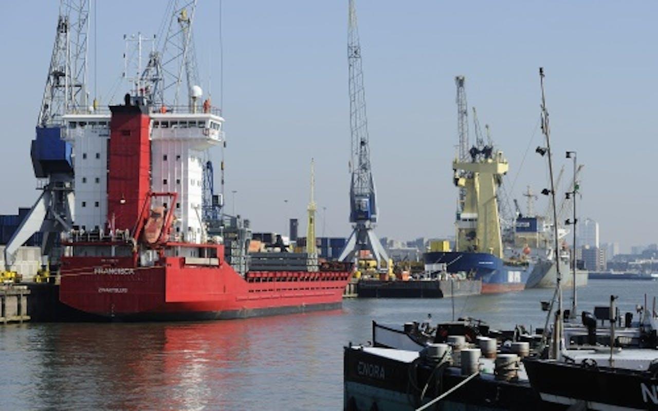 Haven van Rotterdam. ANP