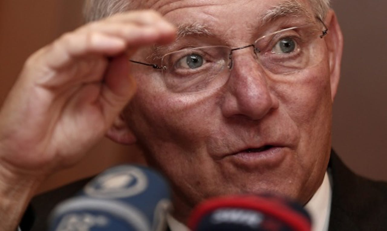Wolfgang Schäuble. EPA