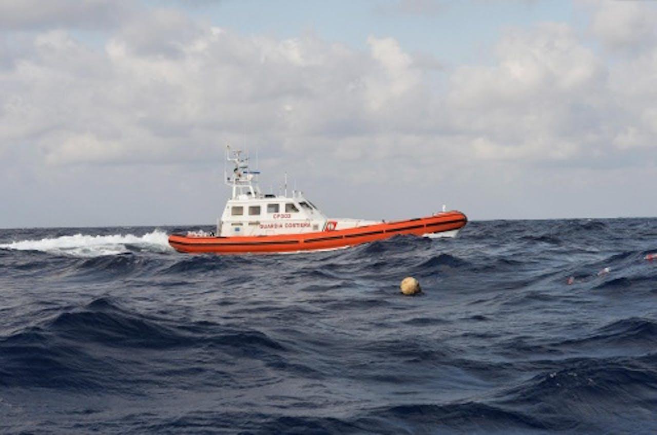 Archieffoto, Italiaanse kustwacht. EPA