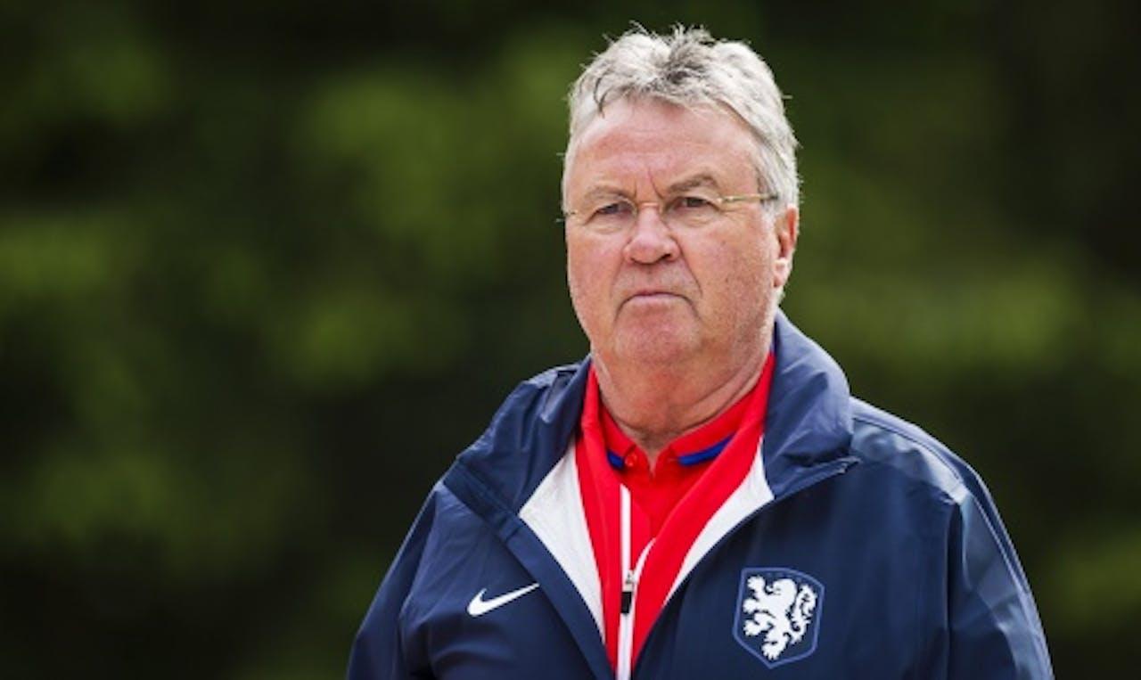 Bondscoach Guus Hiddink. ANP