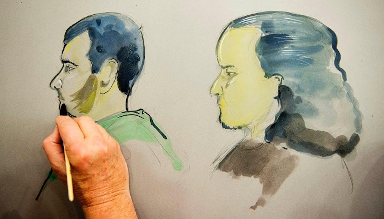 Omar H (rechts). Foto: ANP