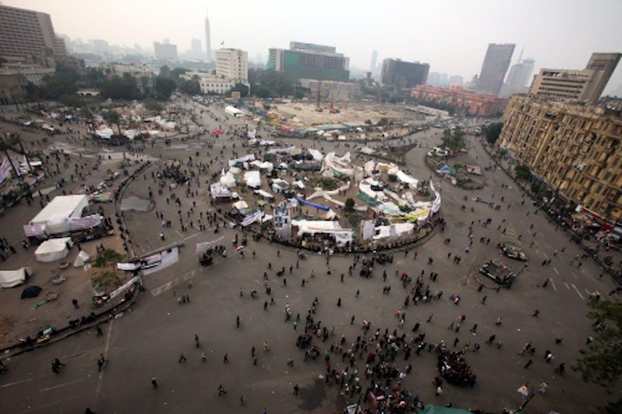 Tahrir-plein. EPA