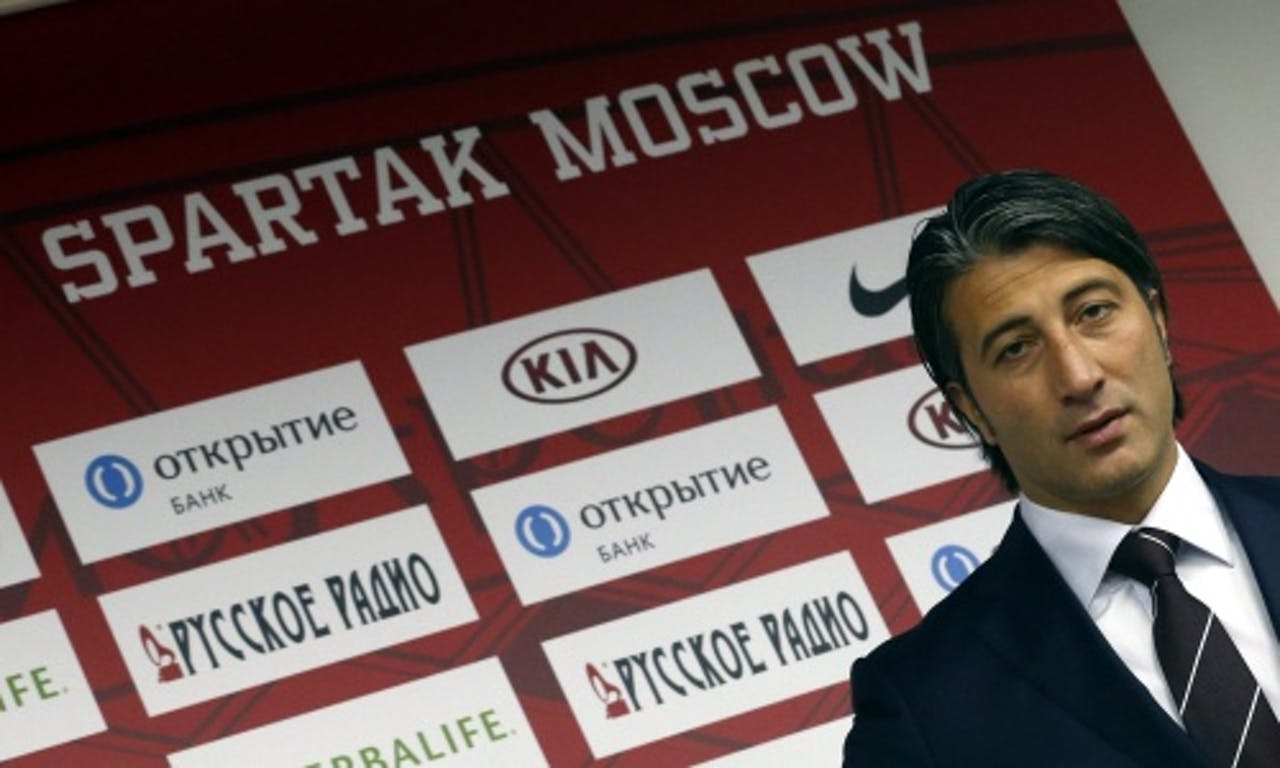 Spartak-coach Murat Yakin. EPA