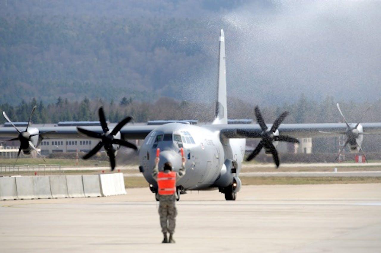 Archieffoto van een Amerikaanse C-130 (EPA)