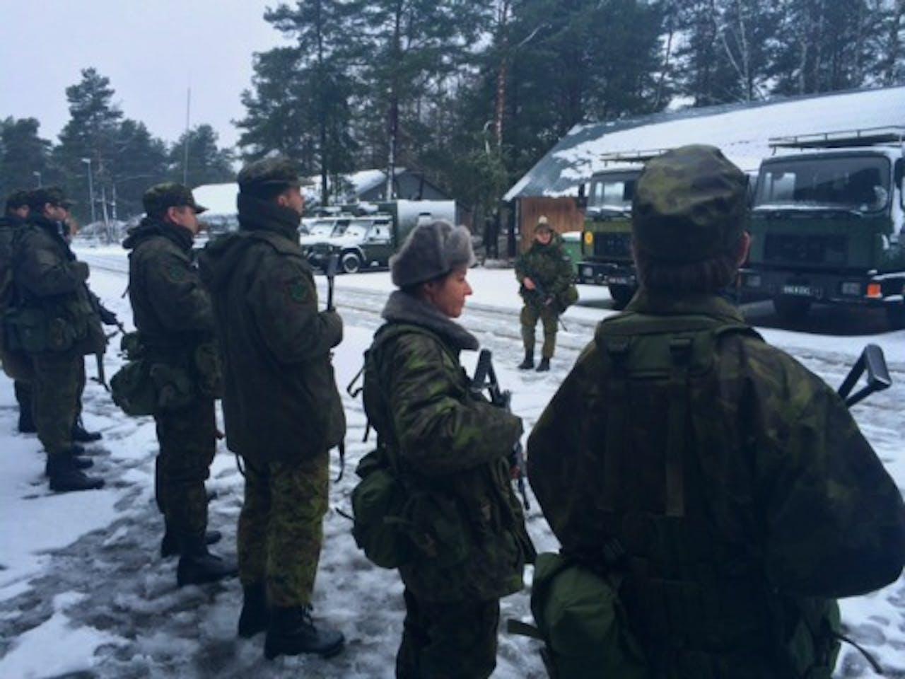 Training Ests vrijwilligers leger, Talllinn