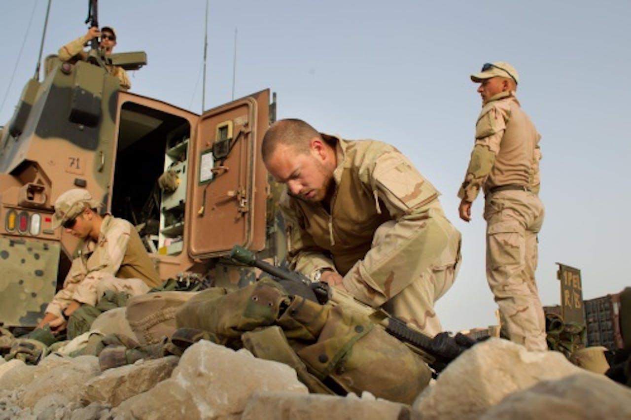 Archiefbeeld Nederlandse militairen in Kunduz. Foto: ANP