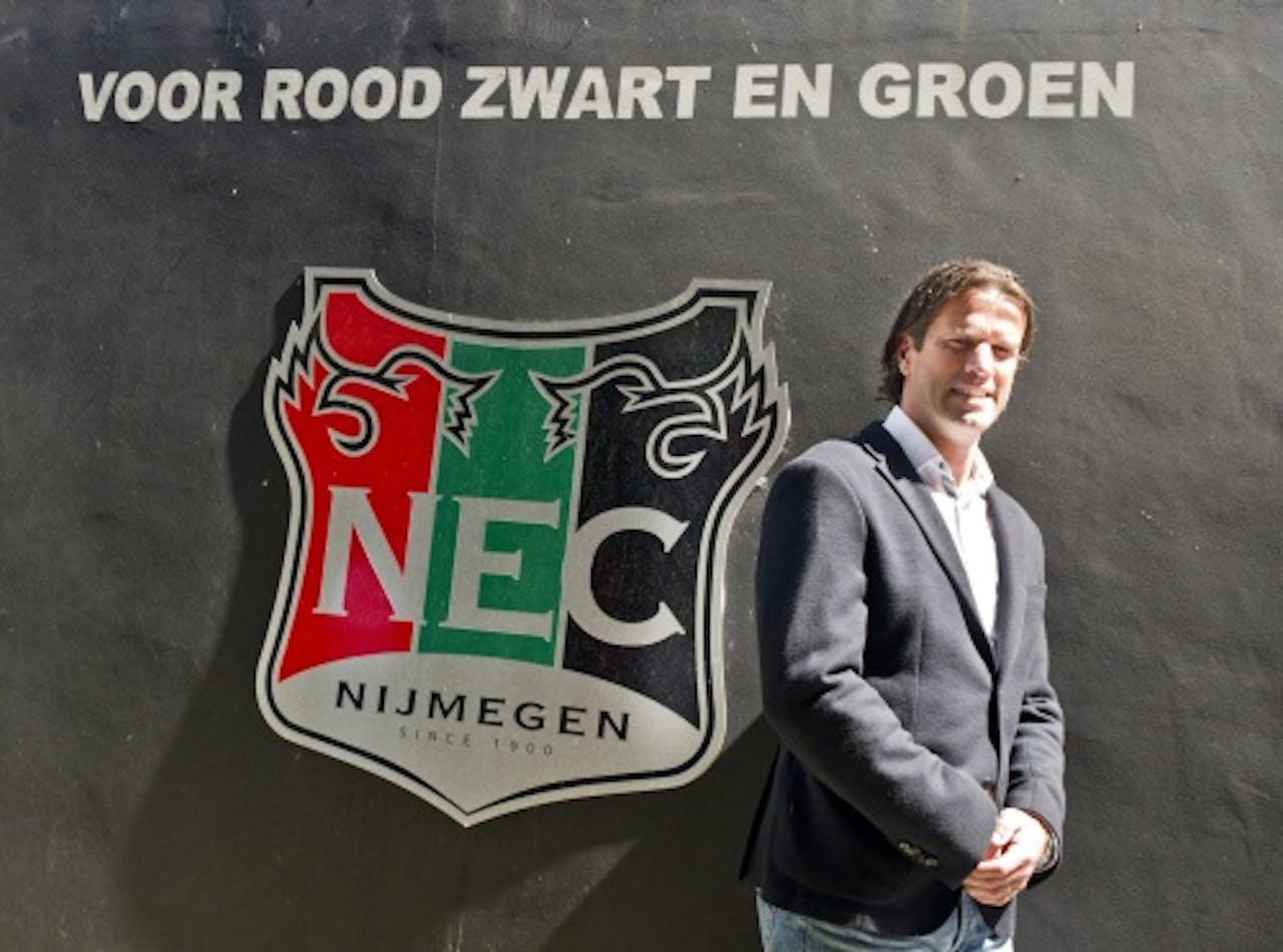 NEC-trainer Ernest Faber. ANP