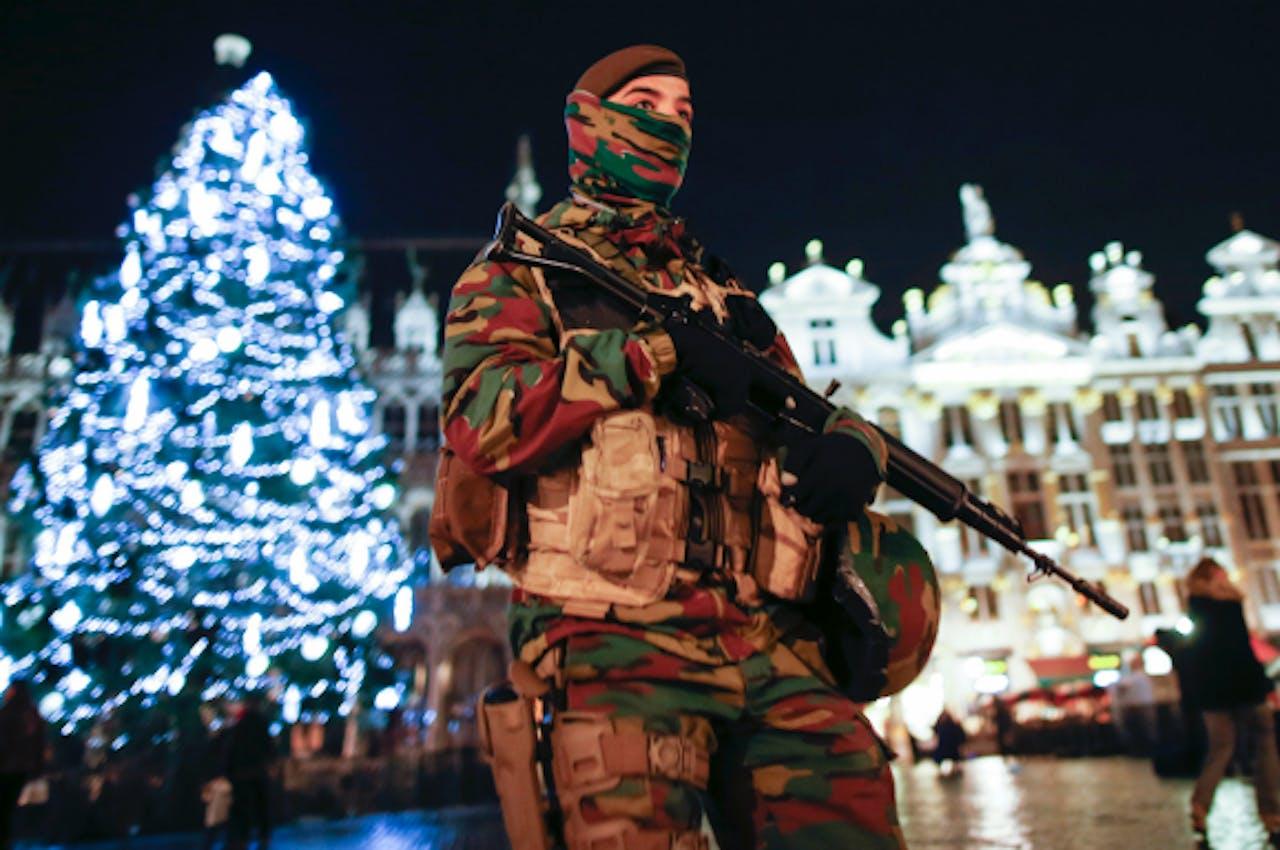 Anti-terreurmaatregelen Brussel blijven gehandhaafd. Foto: ANP