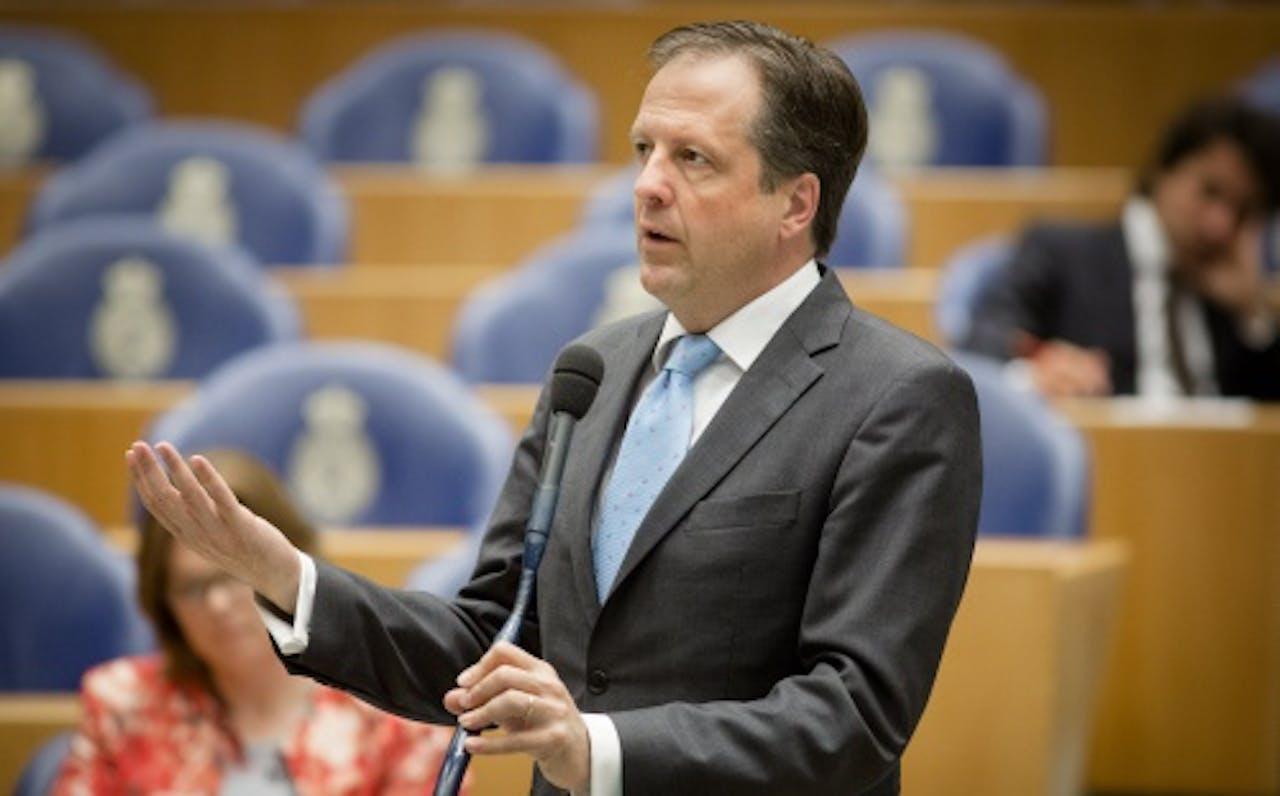 D66-fractievoorzitter Alexander Pechtold. ANP