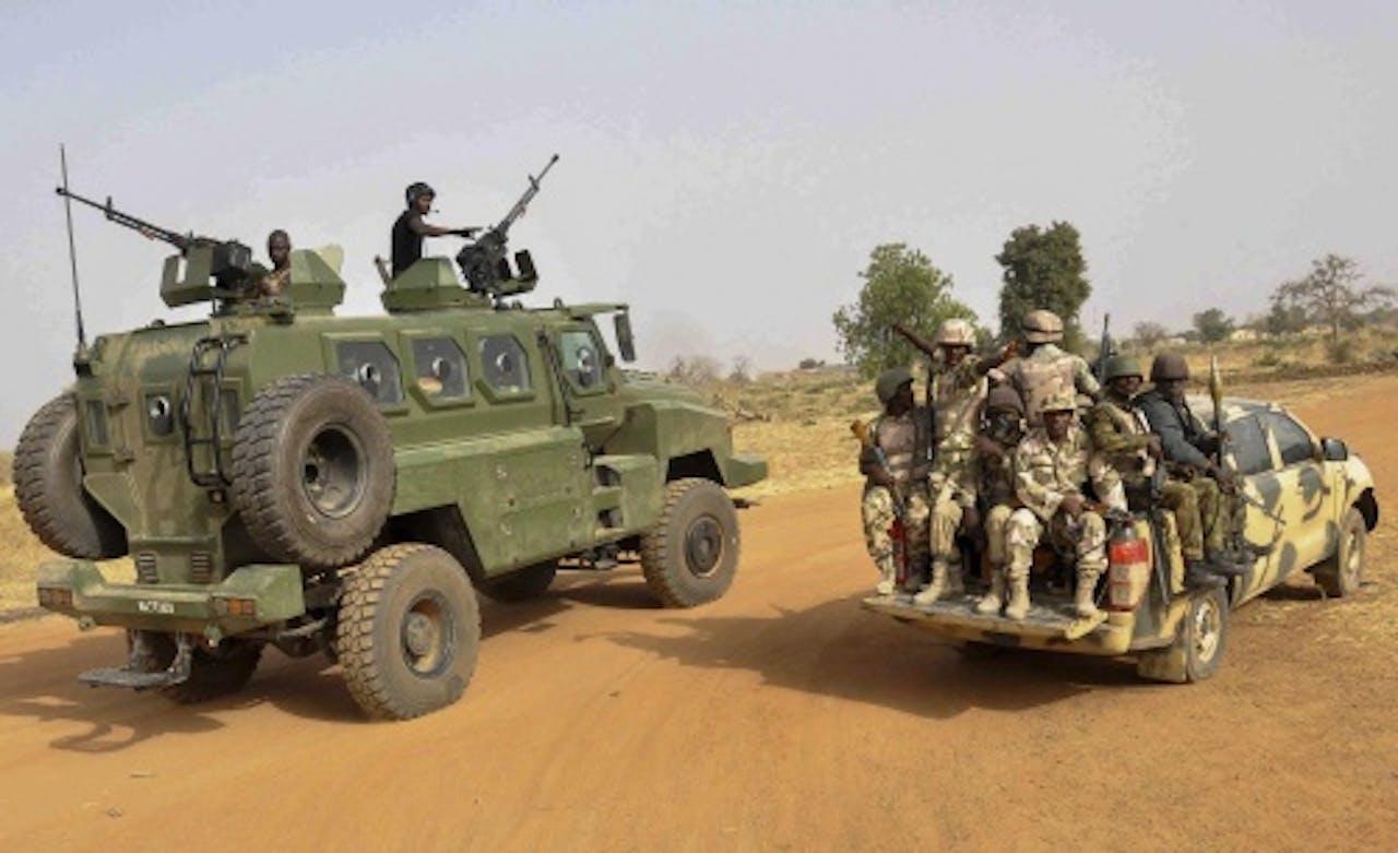 Soldaten van het Nigeriaanse leger. EPA