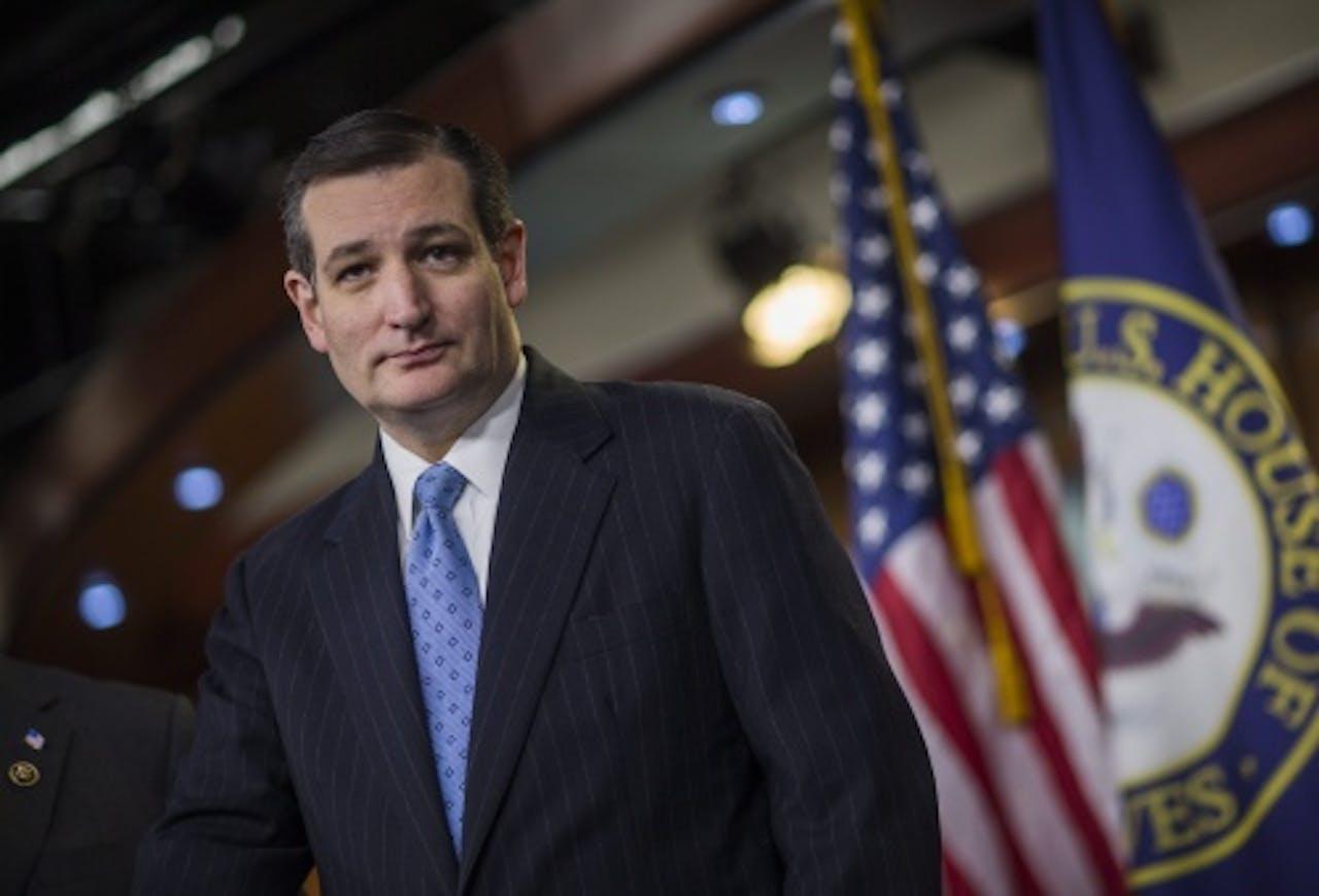 Ted Cruz. EPA