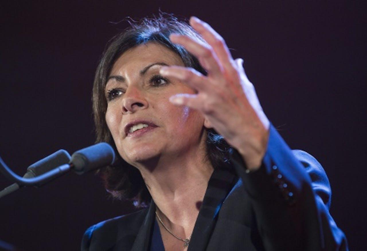 Anne Hidalgo. EPA
