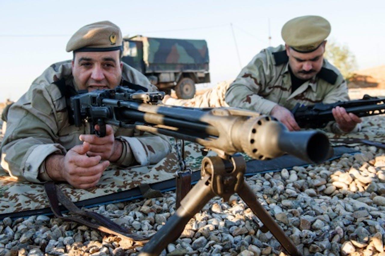 Peshmerga's in Irak. Archieffoto EPA