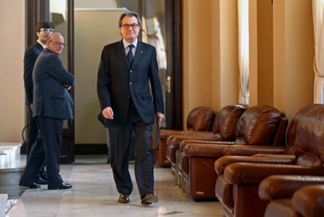 Catalaanse president Artur Mas. EPA