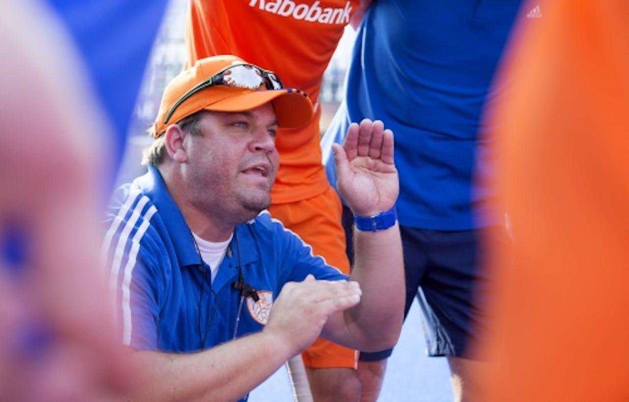 Archieffoto bondscoach Max Caldas (ANP)
