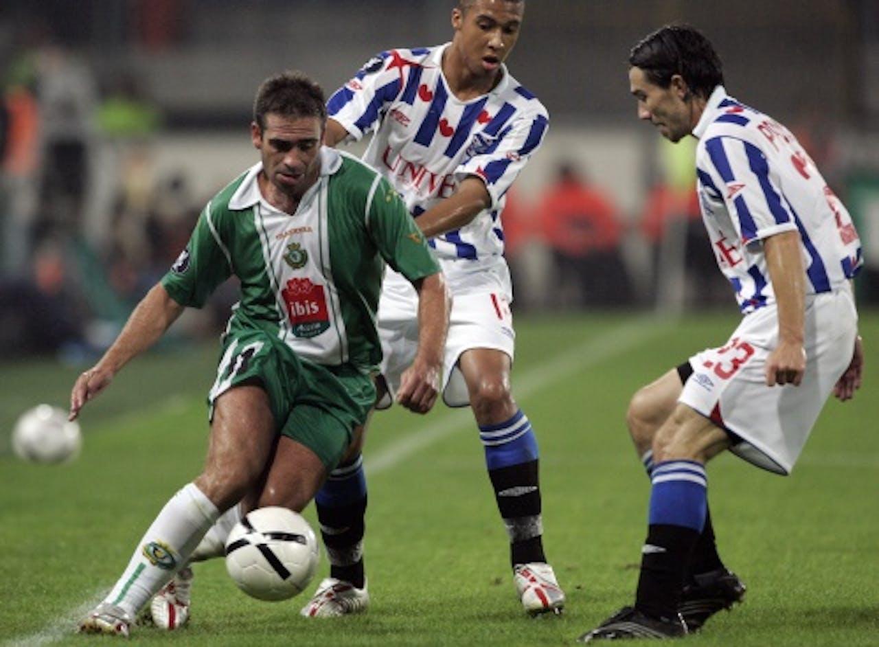 Bruno Ribeiro als speler. EPA