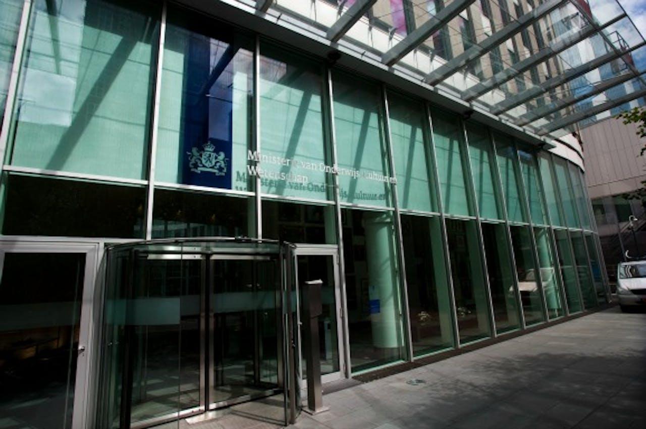 Het ministerie van Onderwijs in Den Haag. Foto ANP
