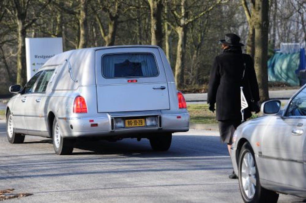 Maandag werd Hillis begraven op de Amsterdamse begraafplaats Westgaarde. ANP