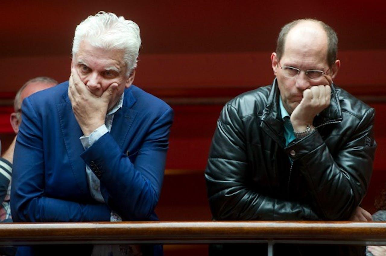Foto: ANP - Jan Slagter (L) en Paul Römer (R)