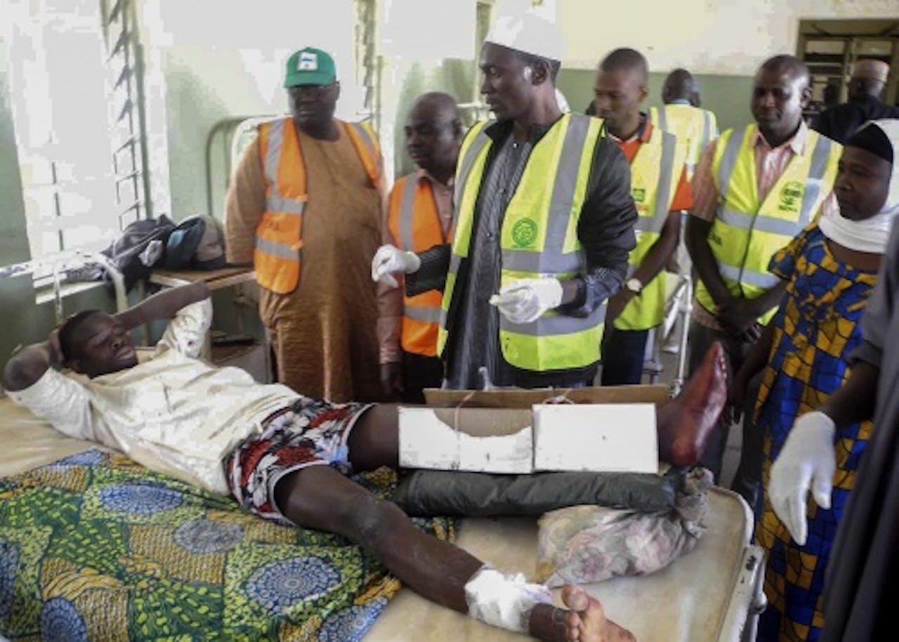 Slachtoffers van een aanslag door Boko Haram in Nigeria. EPA